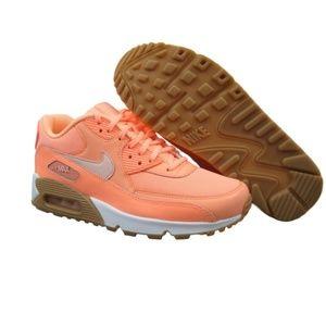 Nike Air Max 90 Running Shoes Women's Sunset Glow
